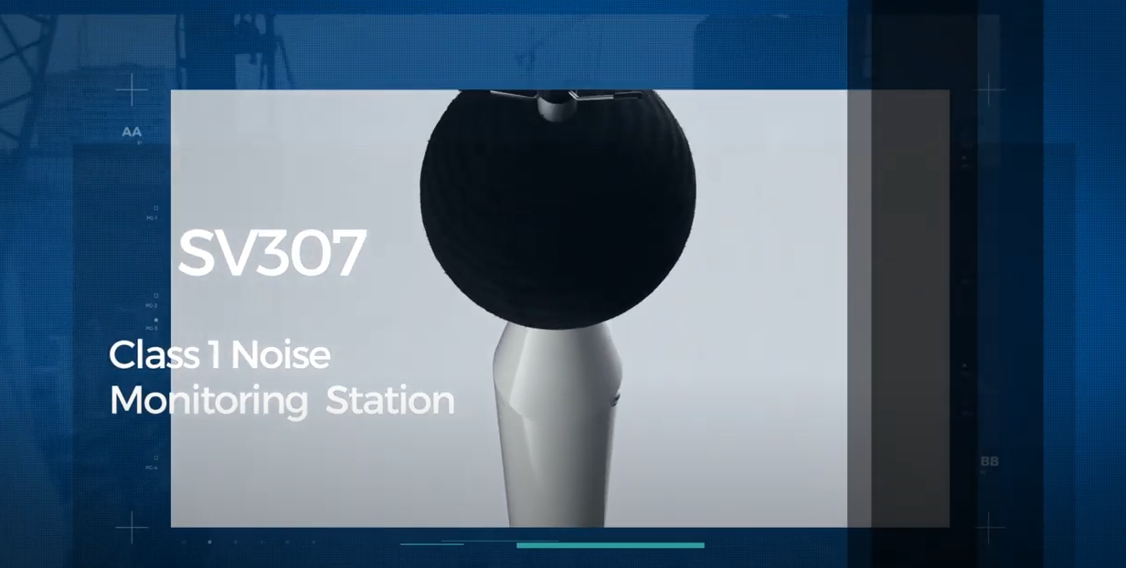 SV 307 Class 1 Noise Monitoring Station Video