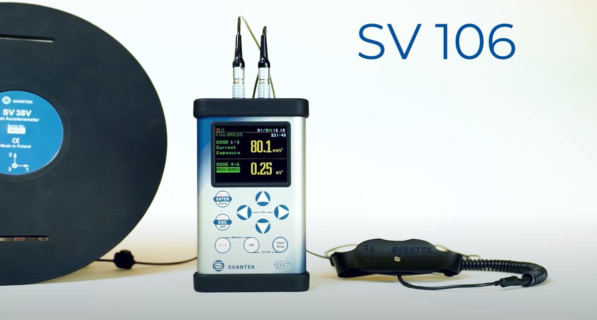 SV 106A Human Vibration Meter & Analyser Video